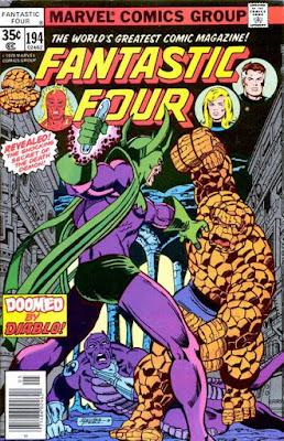 Fantastic Four #194, Diablo