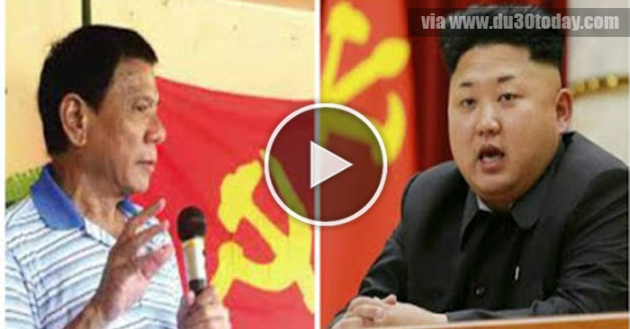 DUTERTE NA BWESIT SA PAKIKIALAM NG NORTH KOREA LEADER NA SI KIM JONG UN