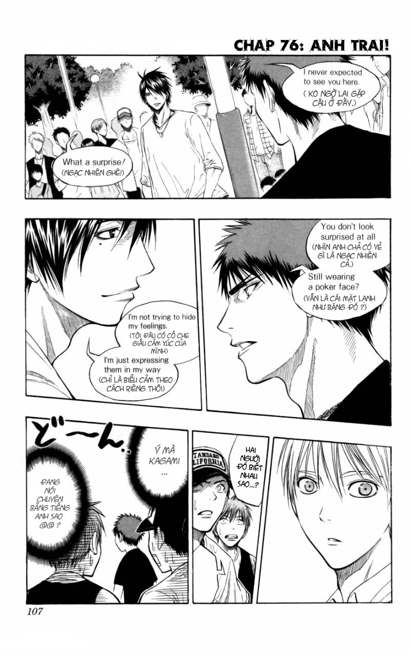 Kuroko No Basket chap 076 trang 1