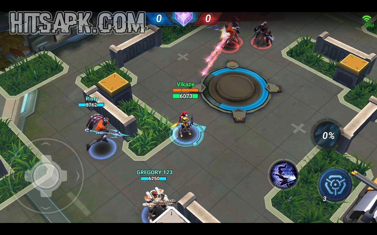 Mobile Battleground Blitz APK mod terbaru