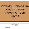 Tata Cara dan Aturan Pembuatan Papan Nama Gugusdepan Pramuka