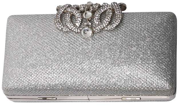 Bata Studded Box-Clutch_Available at Bata Stores_MRP 1999