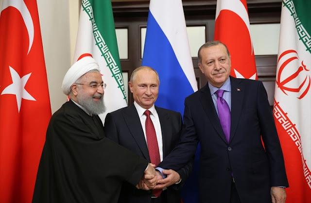 القمة الثلاثية : مواصلة محاربة الارهاب واهمية فصل الارهابيين عن المعارضة المسلحة