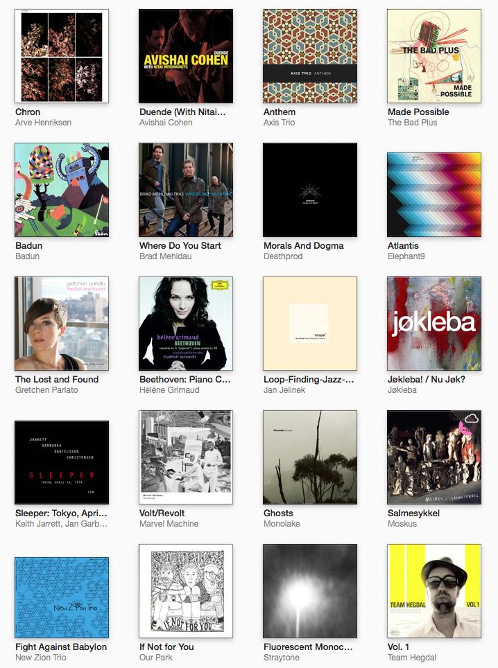 ƚ�定 Best 20 Albums Of 2012
