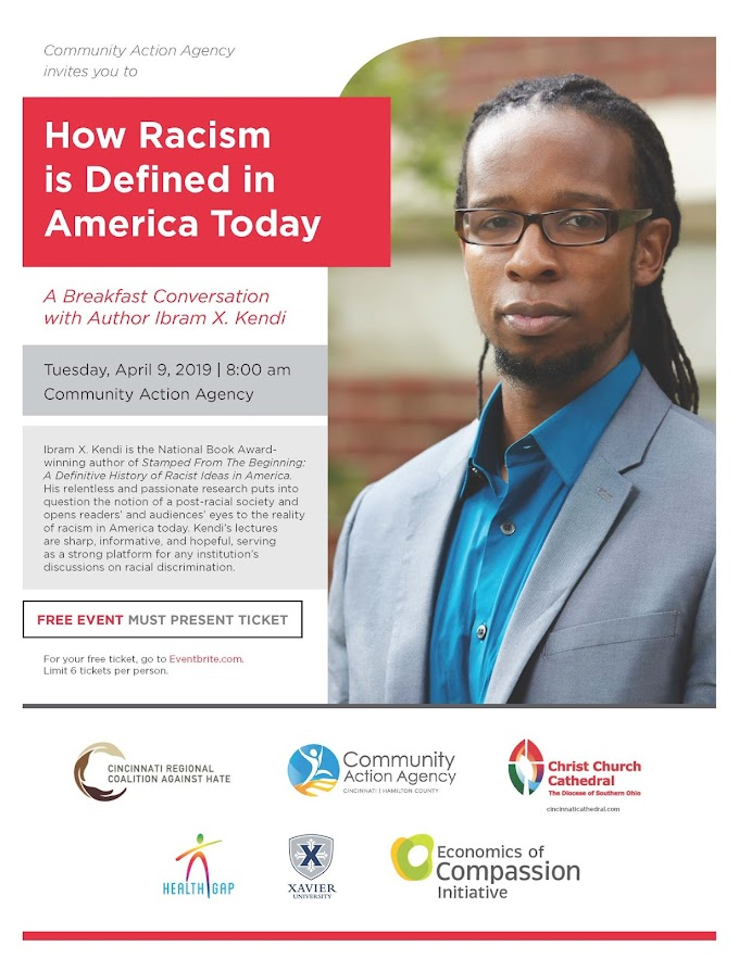 Breakfast Conversation with Author Ibram X. Kendi - April 9, 2019
