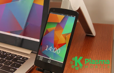Plasma Mobile OS with KDE Look like