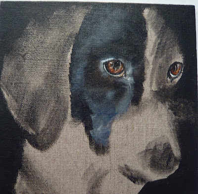 pointer portrait - work in progress