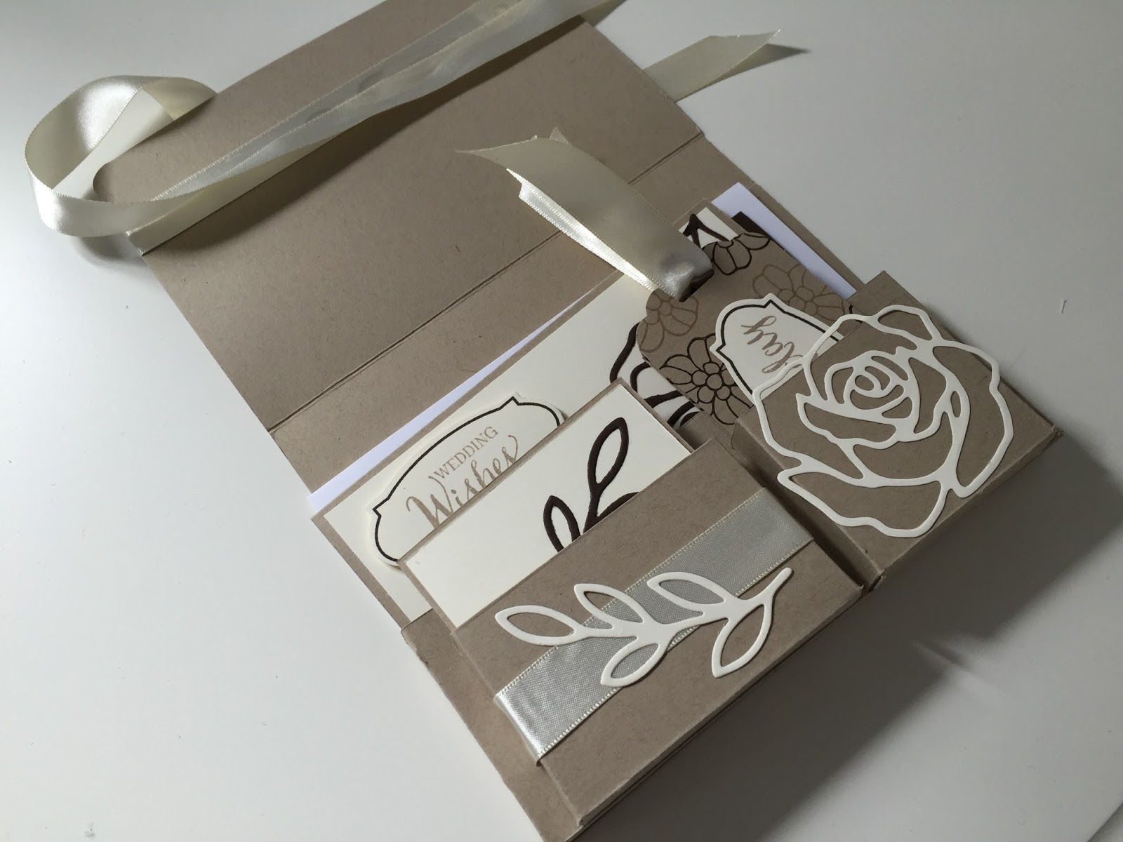 CraftyCarolineCreates: Handmade Card Gift Set using Rose Wonder by Stampin Up  Video Tutorial