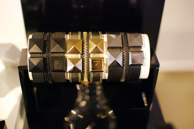 Karl Lagerfeld Zip Cuff Watches 2013