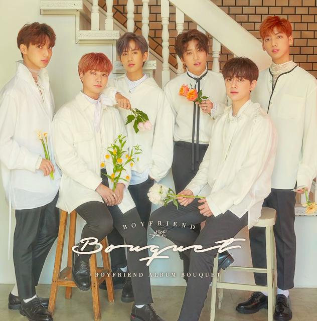 boyfriend japon comeback bouquet album