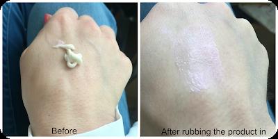 No7 Airbrush Away Radiance Boosting Primer Swatch