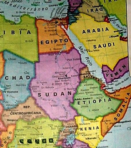 Cuerno De Africa Mapa.Compilando Teoria Por Un Conocimiento Universal Cuerno De
