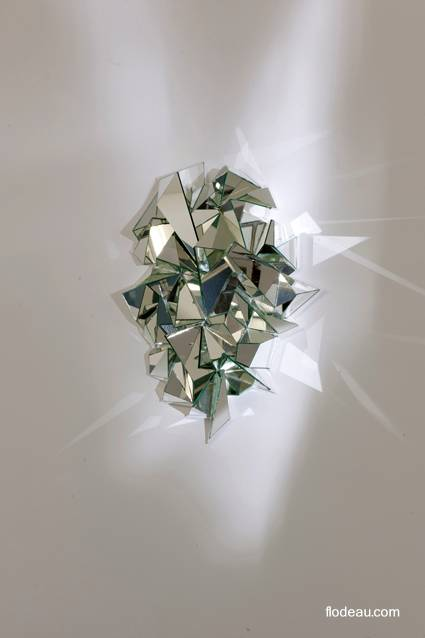 Espejo escultura