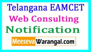 Telangana EAMCET Web Consulting 2018 (Options Entry)