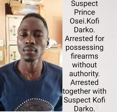 Photos: Armed robbers storm police station in Ghana, gun down an officer before freeing 6 of their colleagues including a Nigerian