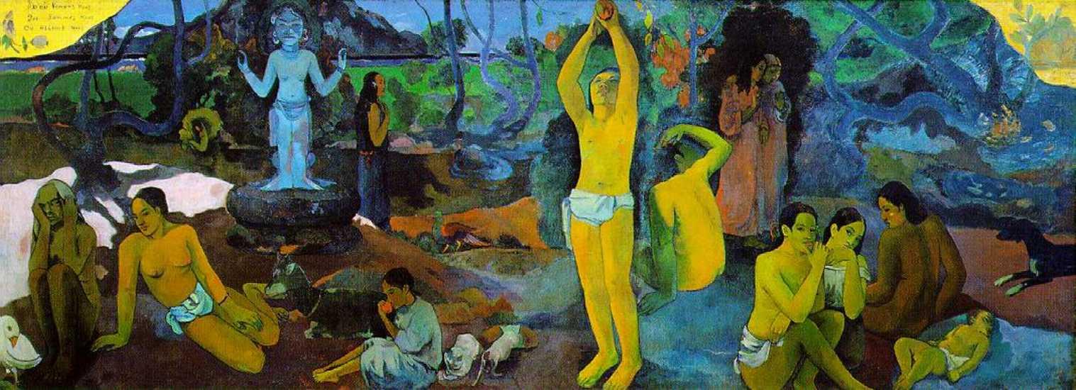 Gauguin ~ Suas 5 principais pinturas