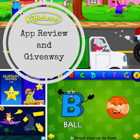 Kidloland app review and giveaway