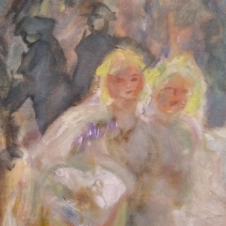 detail from Pierre Bonnard painting