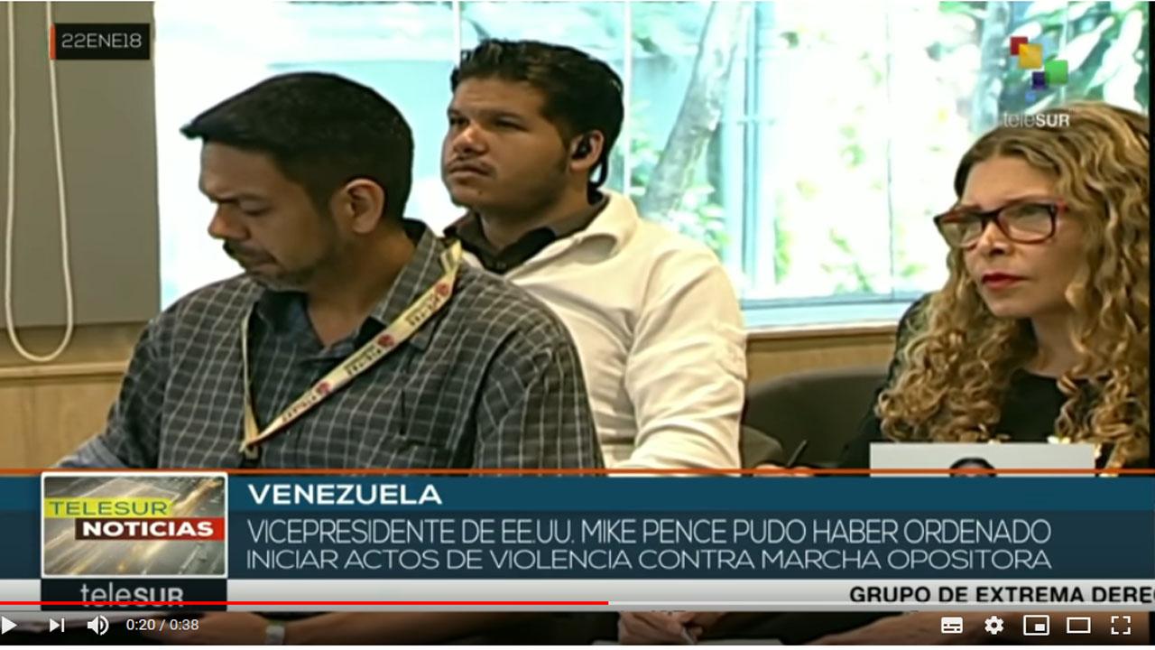 Venezuela: denuncian que gobierno de EE.UU. promueve actos violentos
