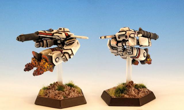 "PHX-HK2 ""Phoenix Hawk"" LAM Painted Unseen Miniature"