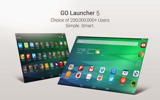 GO Launcher EX 5 10 APK ~ APK MANIA