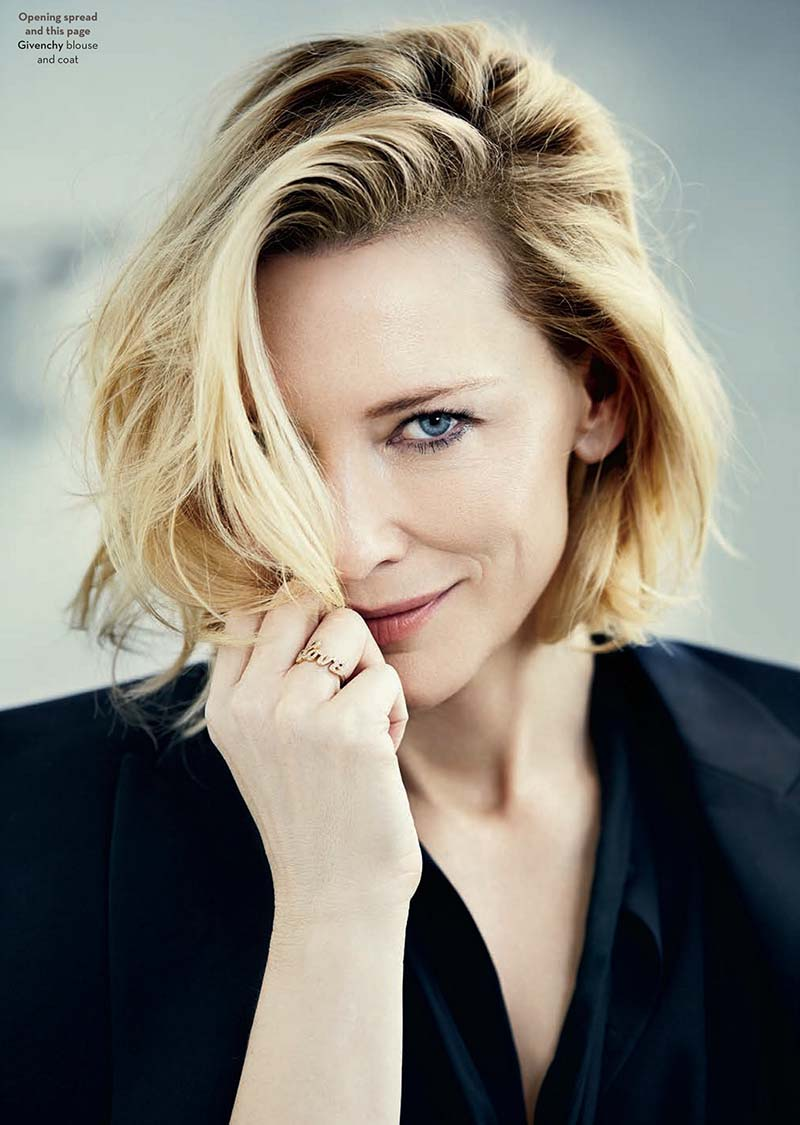 Cate Blanchett by Michele Aboud for Rhapsody - December 2016