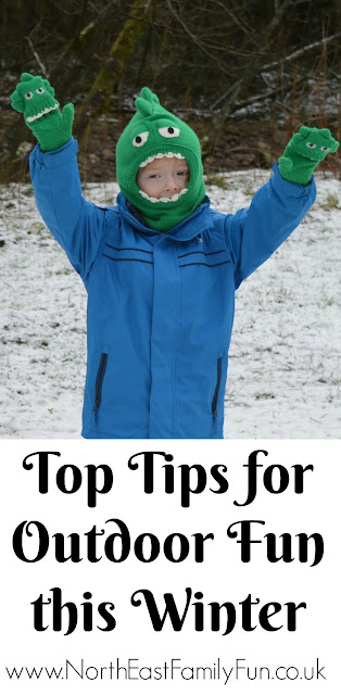 Top tips for outdoor fun this winter