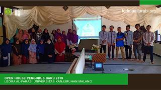 Open House LEDMA Al-Farabi 2019 (Nuansa Sederhana dalam Balutan Keluarga)