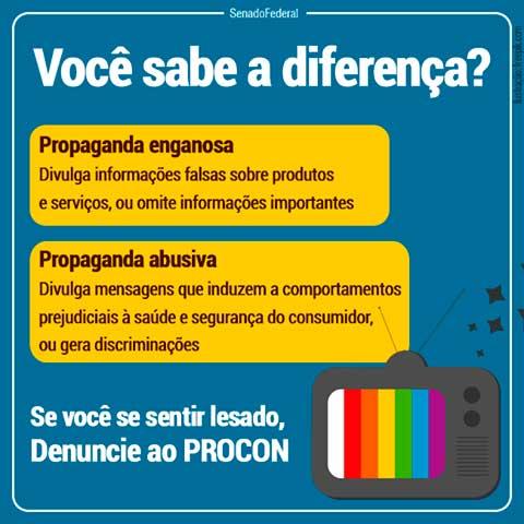 a7987a6d29 O Código de Defesa do Consumidor (CDC) estabelece a proteção contra a  propaganda enganosa e abusiva como um direito básico do cidadão.