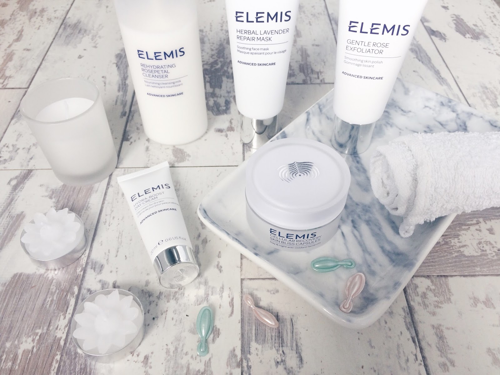 Picture of Elemis Skincare products