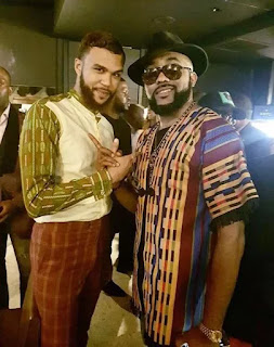 Photos: Jidenna Hangs Out With Nigerian Stars