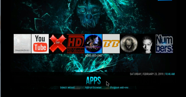 Guide Install Breezz Base Build Wizard 18 Leia - New Kodi Addons