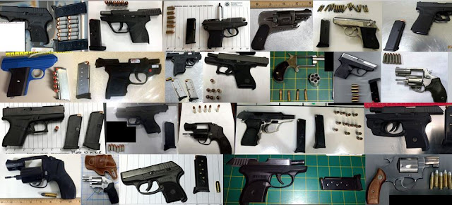 Discovered 51 firearms