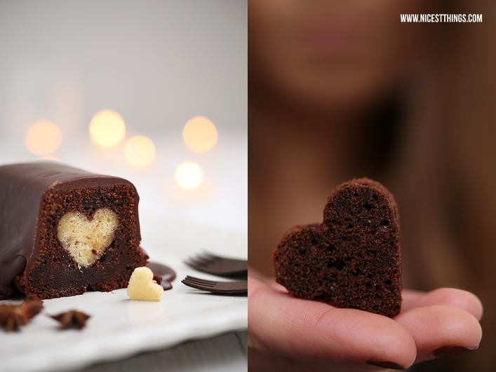 Chai Kuchen mit Herz Herzkuchen Motivkuchen