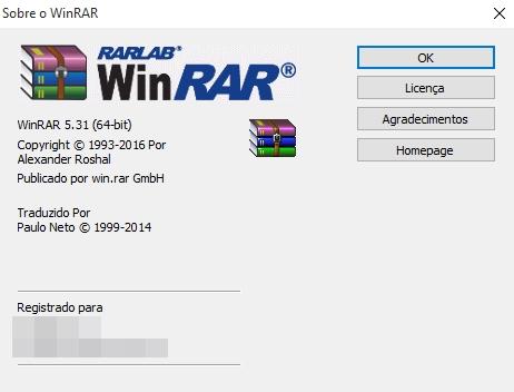 WinRAR v5.31 + Registro - PC (Download Completo em Português)