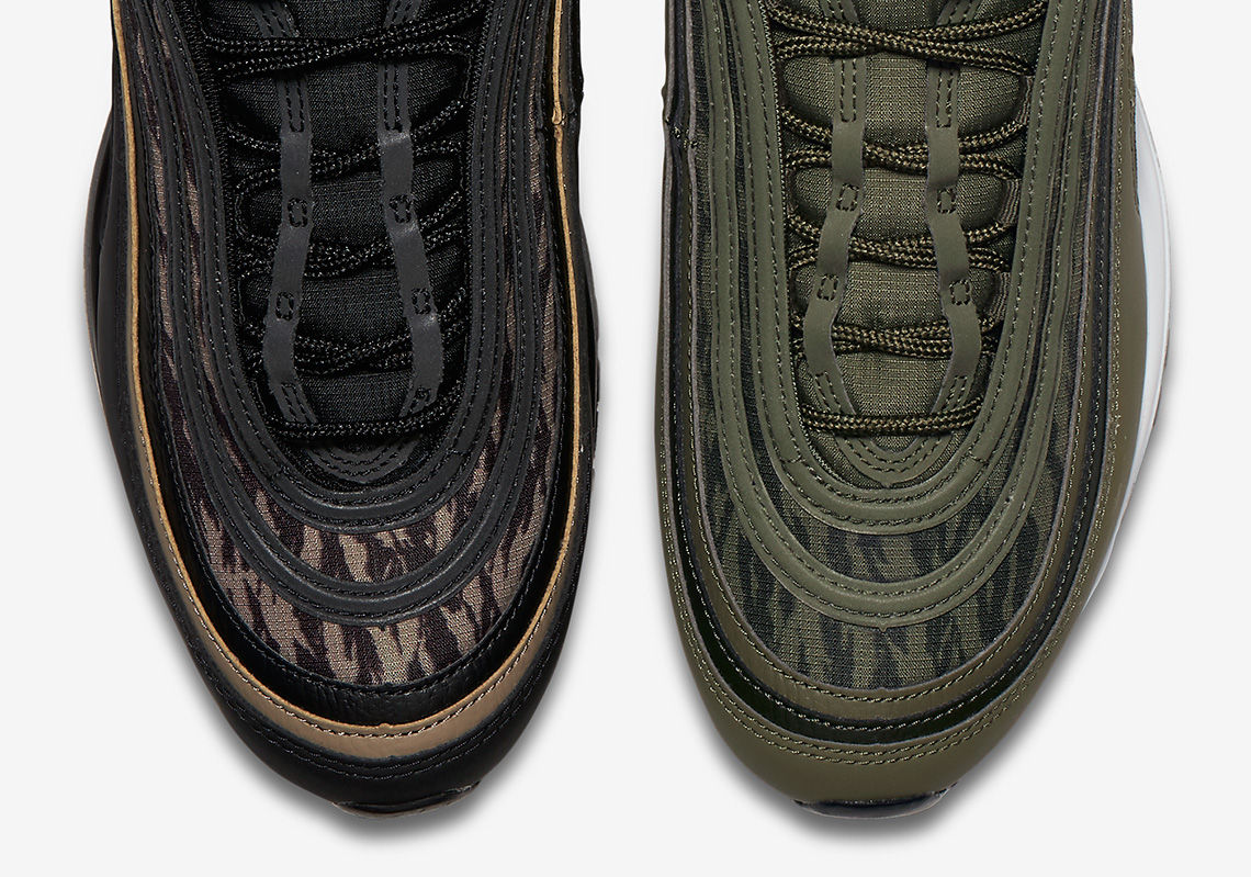 16c6289dd71 Nike is re-uniting the futuristic sneaker with a classic military aesthetic  in 2018. Two new camo-patterned Air Max 97s