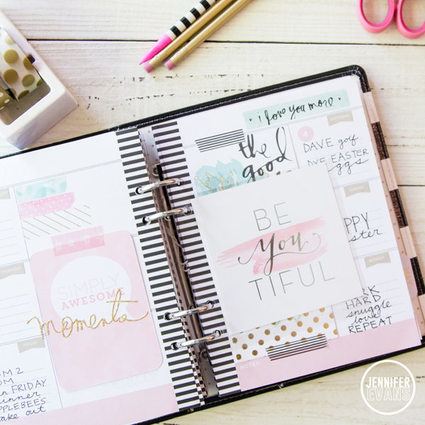 Take a look at the inside pages of my Heidi Swapp Memory Planner by @createoften
