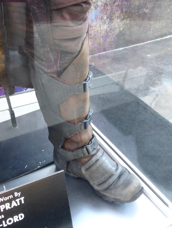 Guardians Galaxy 2 Star-Lord boot detail