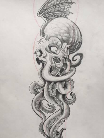 Cthulu Tattoos