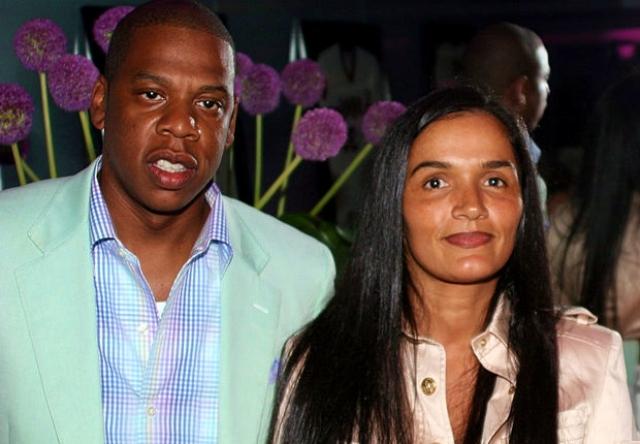 El rapero Jay-Z con Desiree Pérez (Dez)
