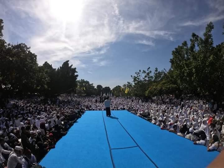 Jelang Coblosan Ustadz Haikal Hassan Ajak Ummat Viralkan 2 Jurus Kalahkan 01
