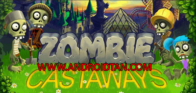 Zombie Castaways Mod Apk v3.9.1 Unlimited Money Zombucks/Brains Terbaru
