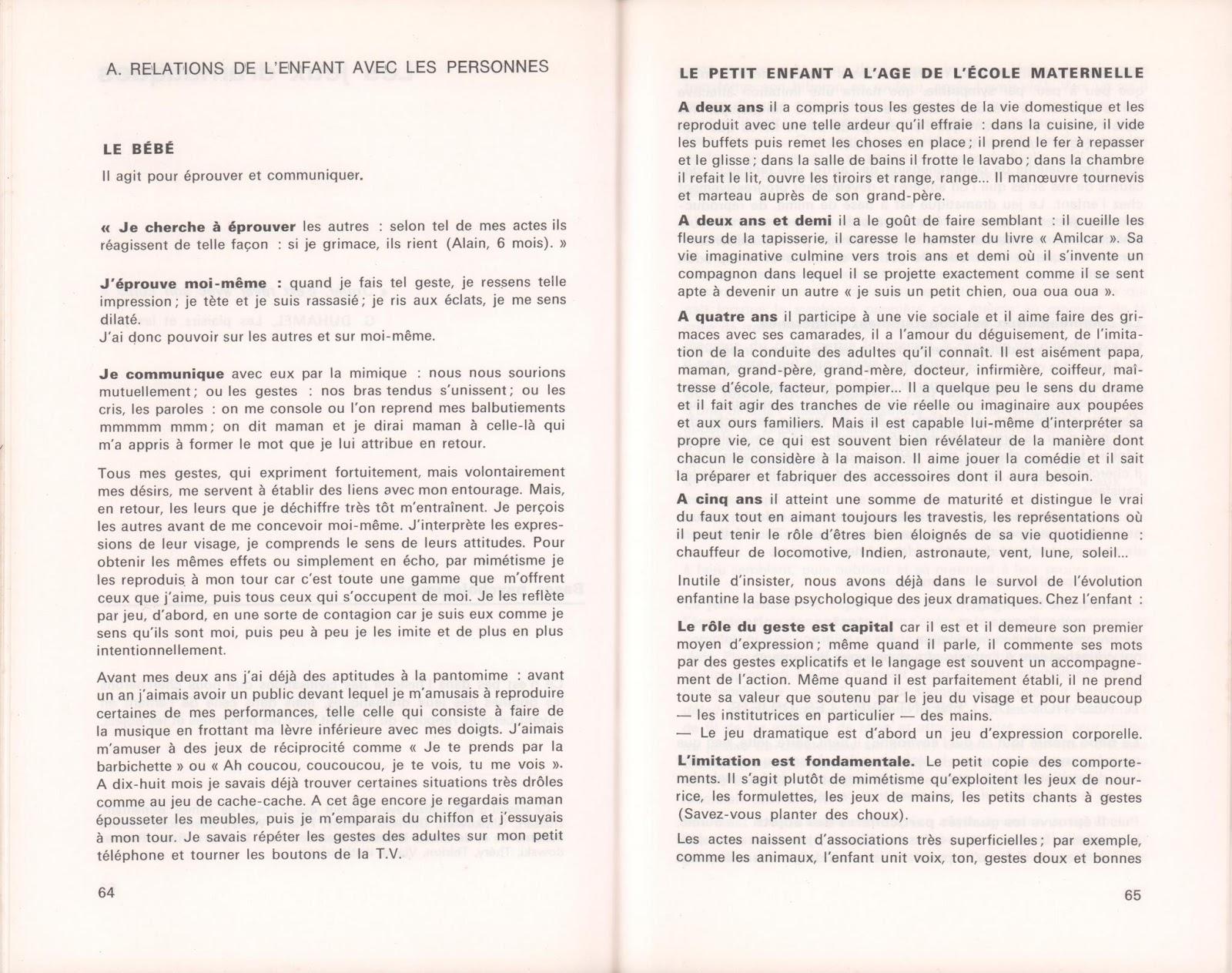 23c94705bfbe école   références  Lequeux, L enfant créateur de spectacle   jeux d ...