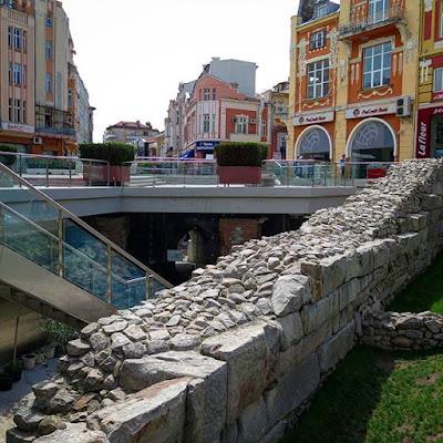 Ruinas en Plovdiv, Bulgaria