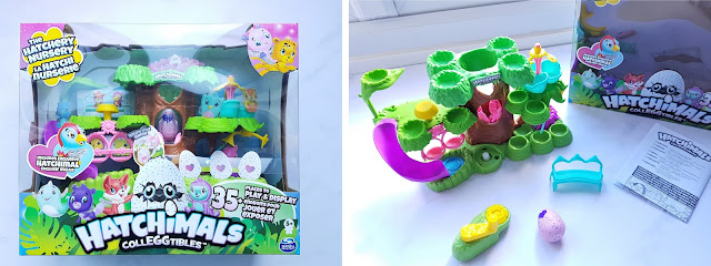 Hatchimals Colleggtibles The Hatchery Nursery Playset, playset for collectible toys, Christmas Gift Idea