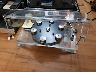 j.a. michell prisma transcriptor turntable without tonearm(collectable) 20171001_162754
