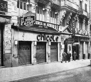 Madrid años 40, Las coctelerías, Bar Chicote,