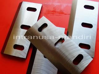 pisau industri, crusher, pisau giling plastik, pisau cacah plastik, pisau granulator, pisau industri intranusa mandiri sidoarjo 08