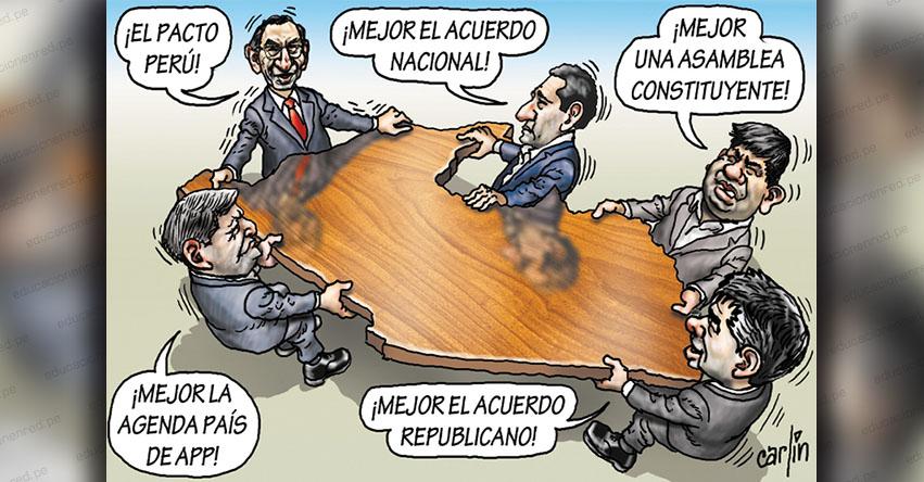 Carlincaturas Jueves 30 Julio 2020 - La República