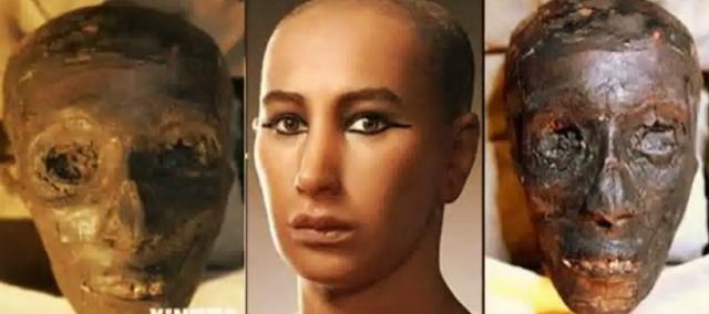 Seperti Inilah Wajah Firaun Tutankhamun, Apa Komentarmu Untuknya?